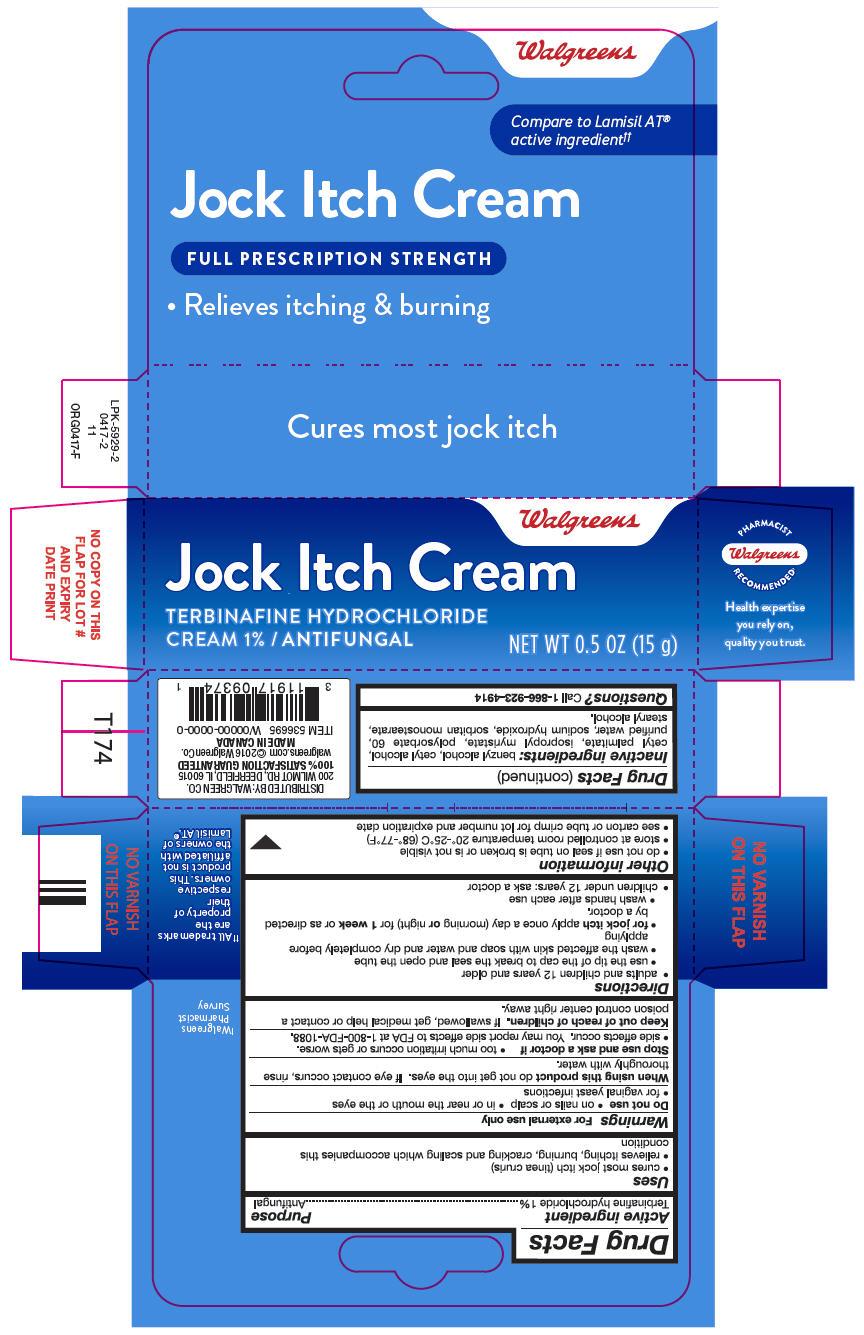 Terbinafine Hydrochloride Cream [Walgreen Company]