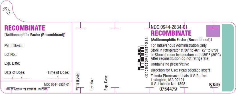PRINCIPAL DISPLAY PANEL - 10 mL Vial Label - 1500 IU