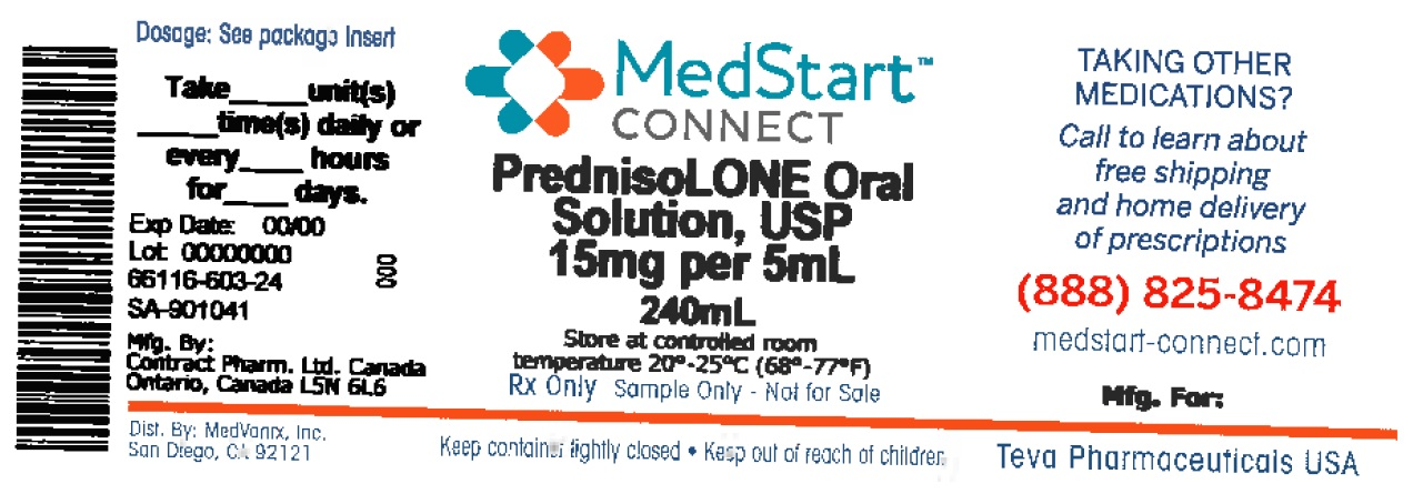 Prednisolone Solution [Medvantx, Inc.]