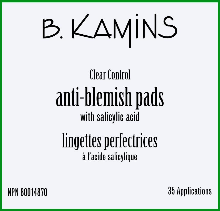 Anti-blemish (Salicylic Acid ) Disc [Kamins Dermatologics Inc.]