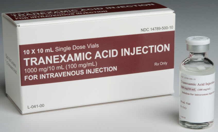 Tranexamic Acid Injection, Solution [Nexus Pharmaceuticals Inc]