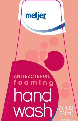 Foaming Hand Wash (Triclosan 0.46%) Liquid [Meijer Distribution]