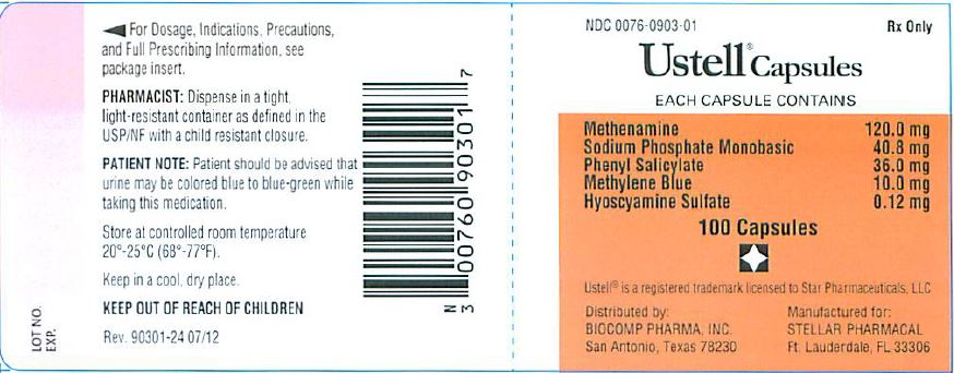 Ustel label