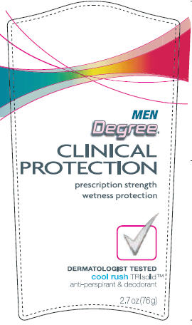 Degree Clinical Protection  Cool Rush 2.7 oz front