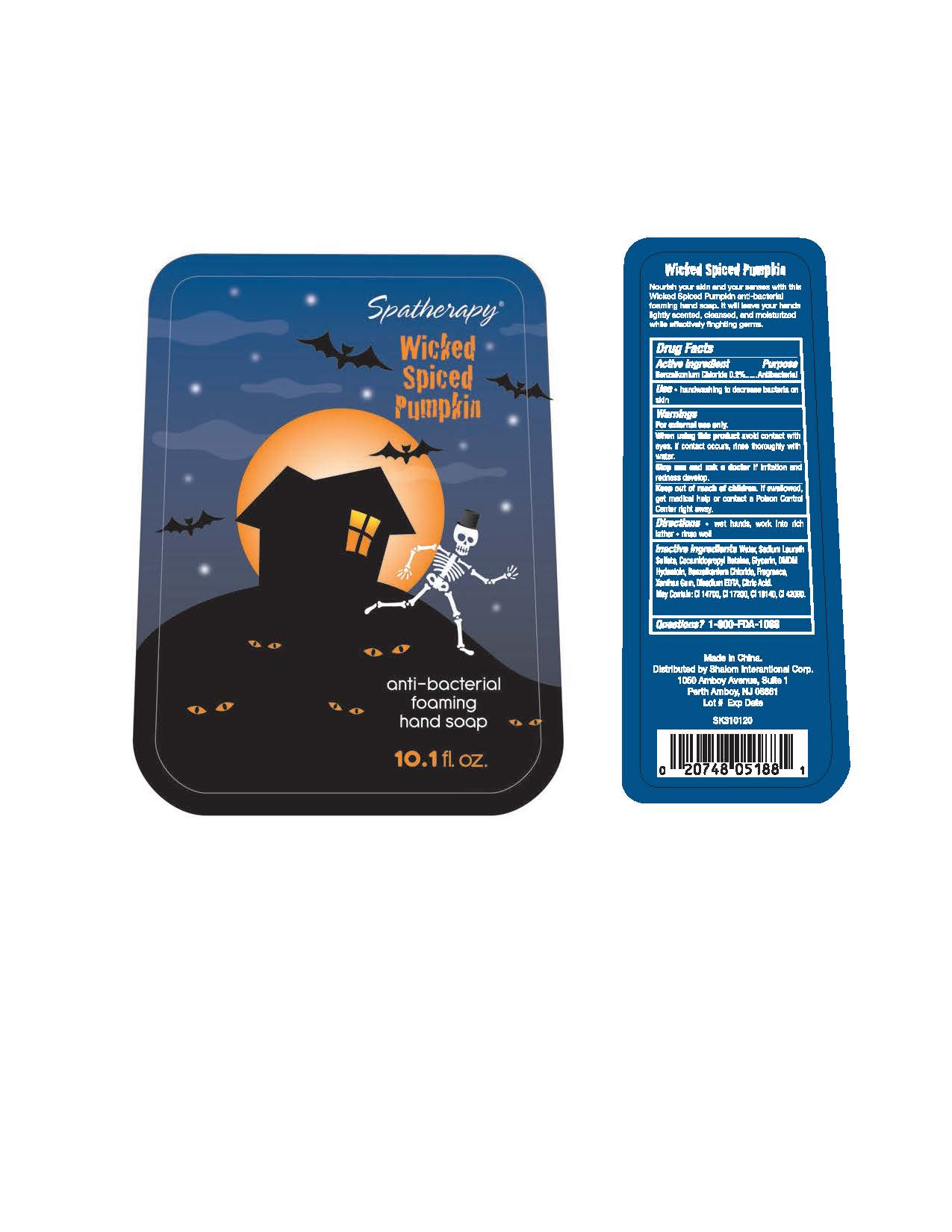 Spatherapy (Benzalkonium Chloride) Lotion [Xiamen Olivee Daily Use Chemical Co., Ltd.]