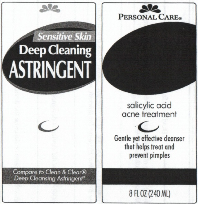 Personal Care Sensitive Skin Deep Cleaning Astringent (Salicylic Acid) Liquid [Personal Care Products, Llc]