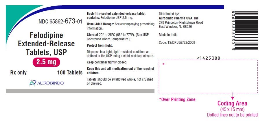 PACKAGE LABEL-PRINCIPAL DISPLAY PANEL – 2.5 mg (100 Tablet Bottle)