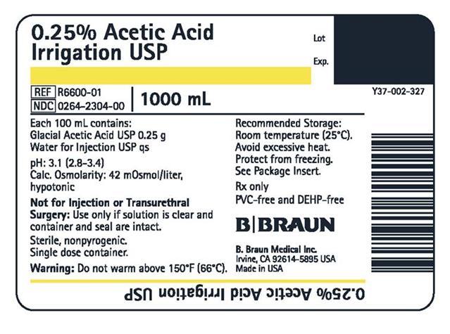 R6600-01 1000 mL container label