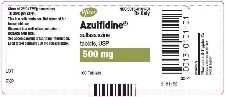 Azulfidine (Sulfasalazine) Tablet [Pharmacia And Upjohn Company]