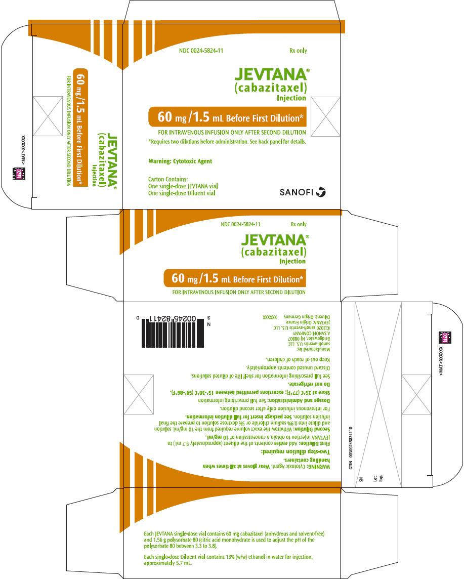 PRINCIPAL DISPLAY PANEL - 60 mg/1.5 mL Vial Label