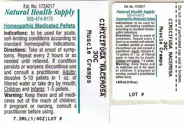 Nhs Muscle Cramps 1 (Muscle Cramps 1) Pellet [Natural Health Supply]