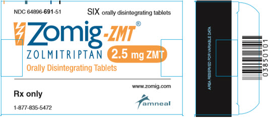 Zomig-ZMT 2.5 mg ZMT Container