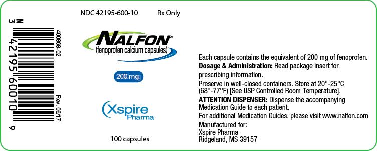 Principal Display Panel - 200 mg