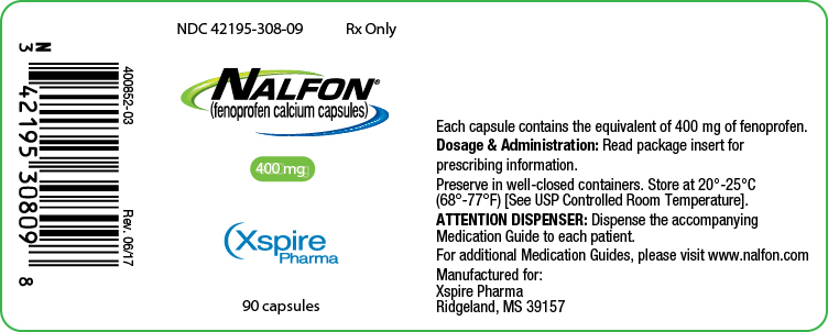 Principal Display Panel - 400 mg
