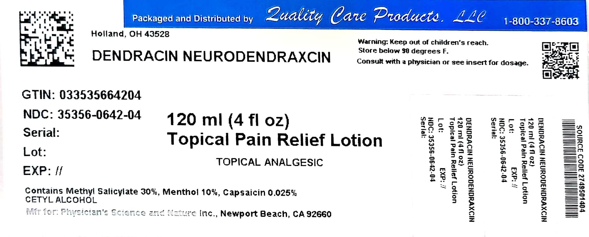 dendracin label