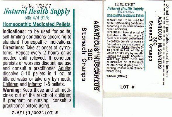 Stomach Cramps (Amanita Muscaria Var. Muscaria) Pellet [Natural Health Supply]