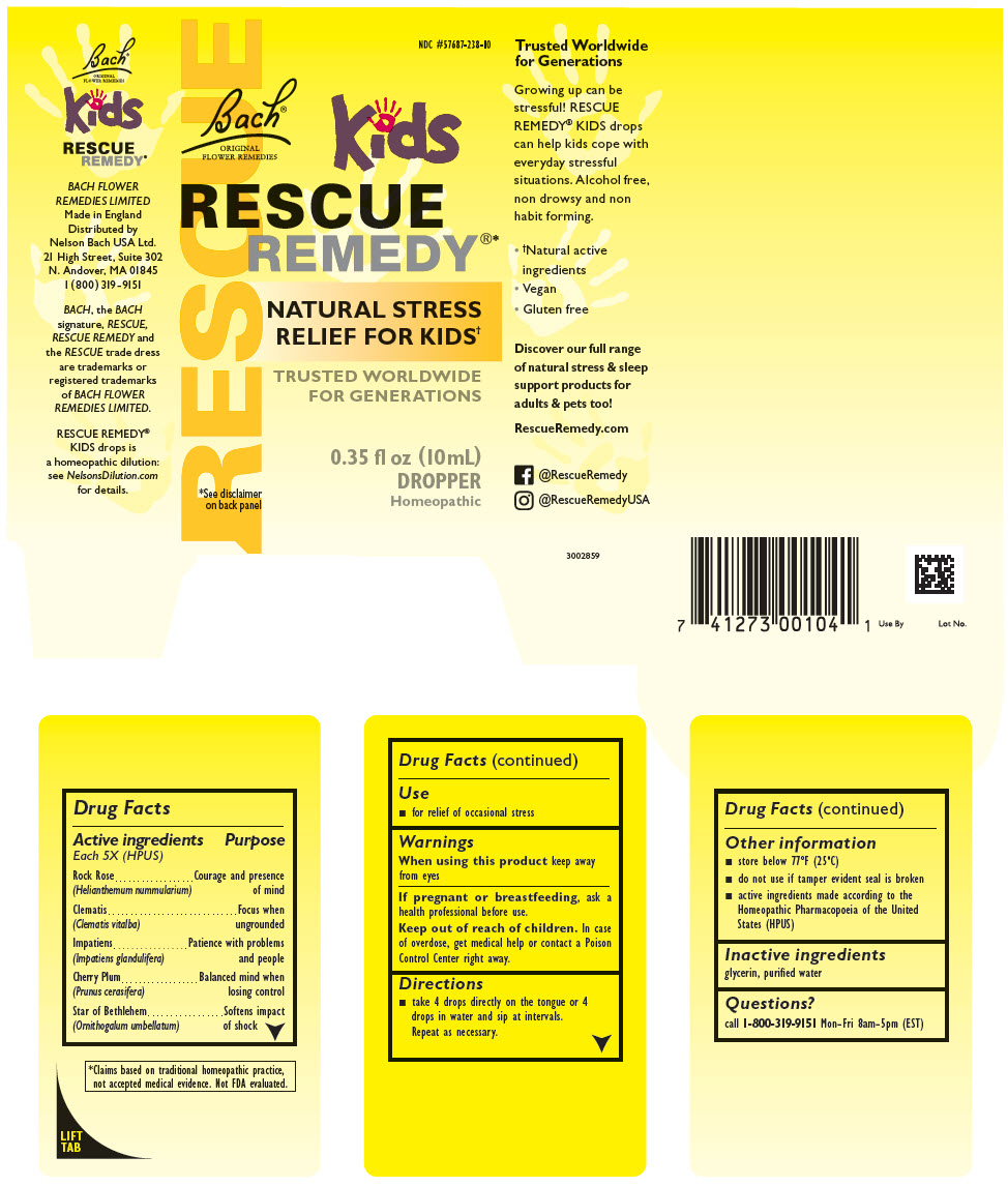 Rescue Remedy Kids (Helianthemum Nummularium Flower, Clematis Vitalba Flower, Impatiens Glandulifera Flower, Prunus Cerasifera Flower, And Ornithogalum Umbellatum) Solution [Nelson Bach Usa, Ltd.]