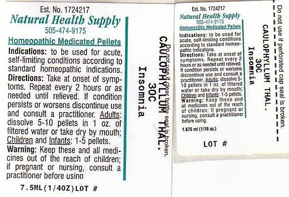 Nhs Insomnia 1 (Insomnia 1) Pellet [Natural Health Supply]
