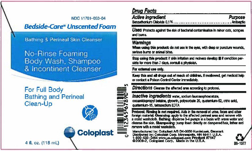 Bedside-care (Benzethonium Chloride) Shampoo [Coloplast Manufacturing Us, Llc]