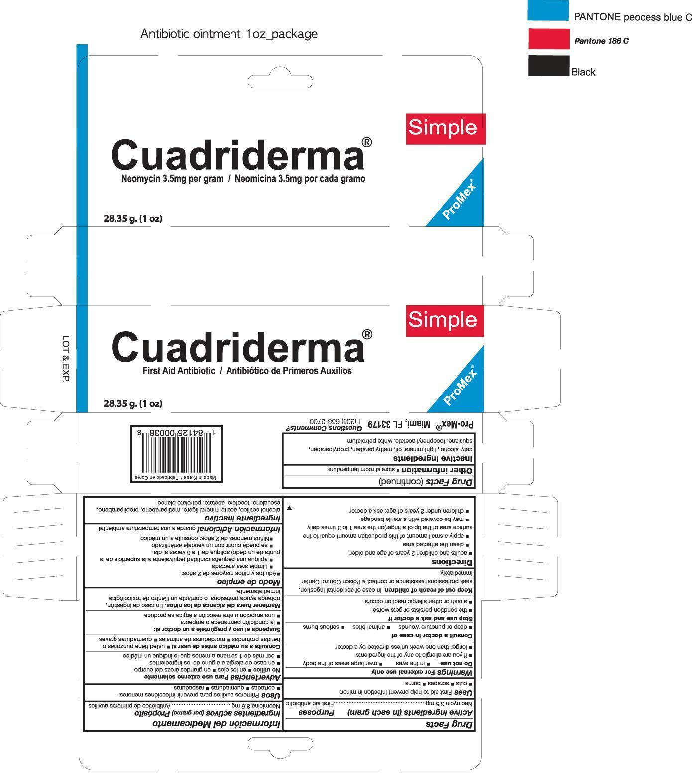 Antibiotic (Neomycin Sulfate) Ointment [Promex, Llc]