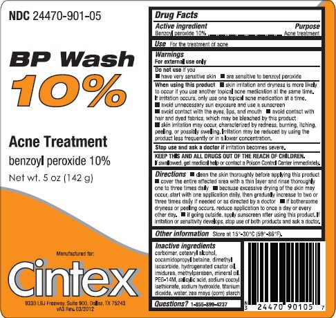 Bp Wash (Benzoyl Peroxide) Emulsion [Cintex Services, Llc]