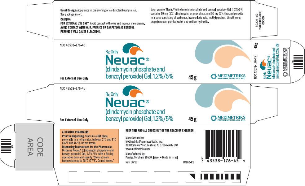 Neuac (Clindamycin Phosphate And Benzoyl Peroxide) Gel [Medimetriks Pharmaceuticals]