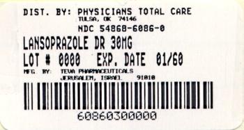 Lansoprazole Delayed-Release Capsules USP 30 mg Label