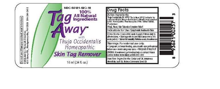 tag away 10 bar code