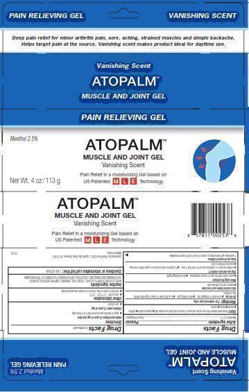 Atopalm Muscle And Joint (Menthol) Gel [Neopharm Co., Ltd.]