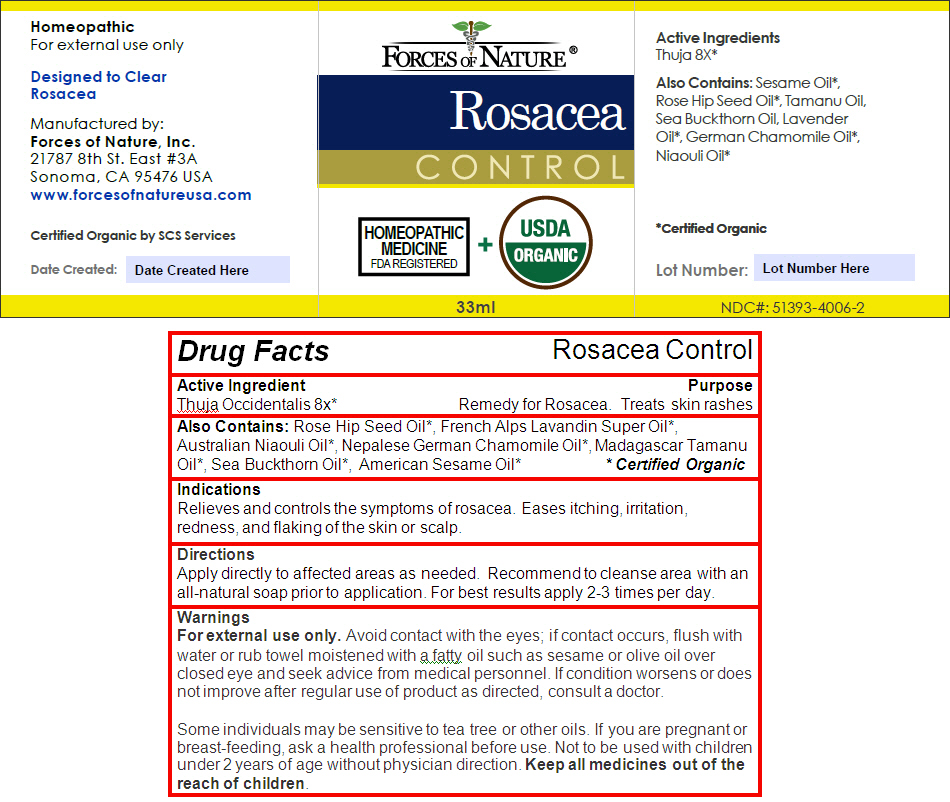 Rosacea (Thuja Occidentalis Leafy Twig) Solution/ Drops [Forces Of Nature]