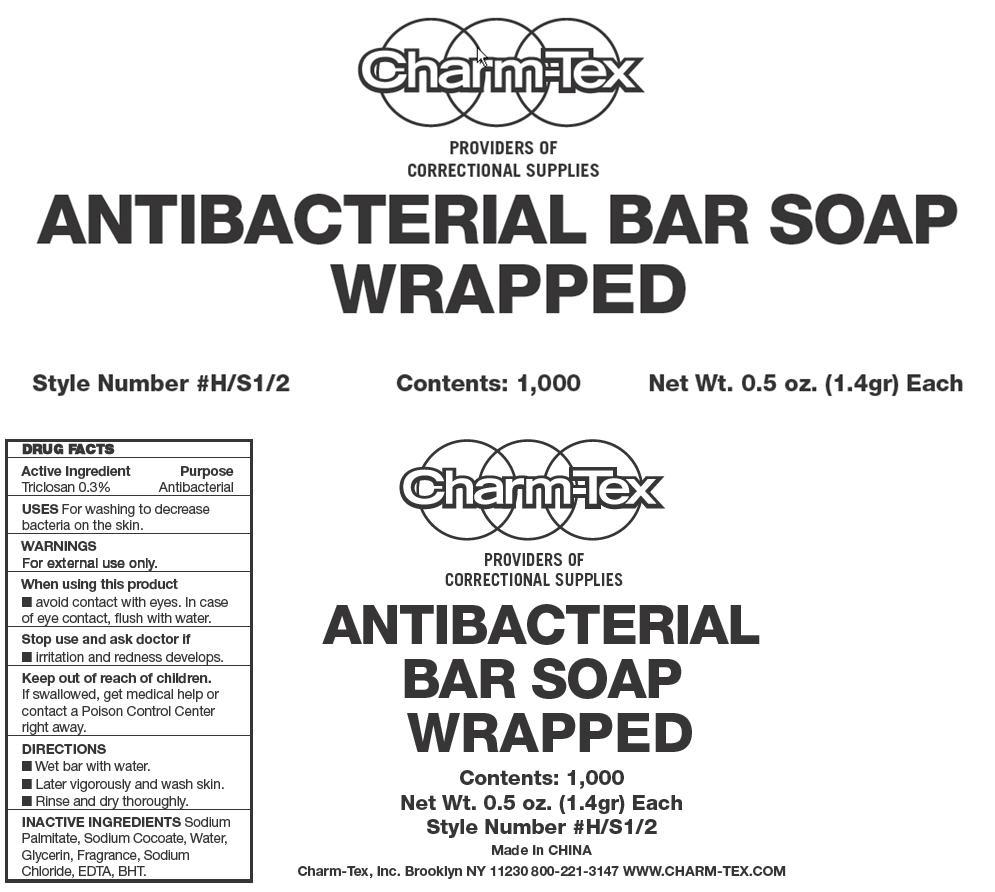 Antibacterial Bar (Triclosan) Soap [Charm-tex, Inc]