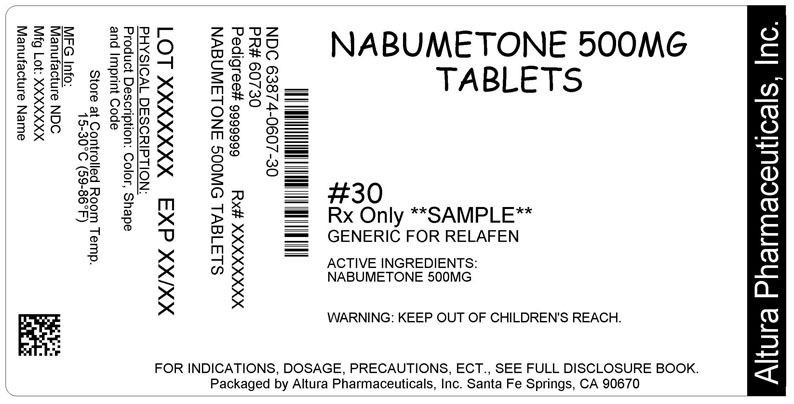Nabumetone 500 mg