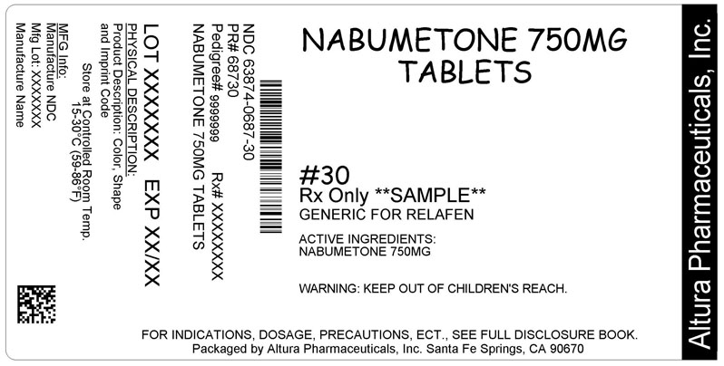Nabumetone 750 mg