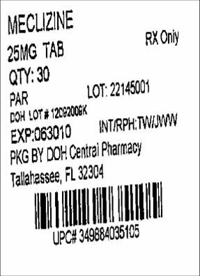 25mg Label