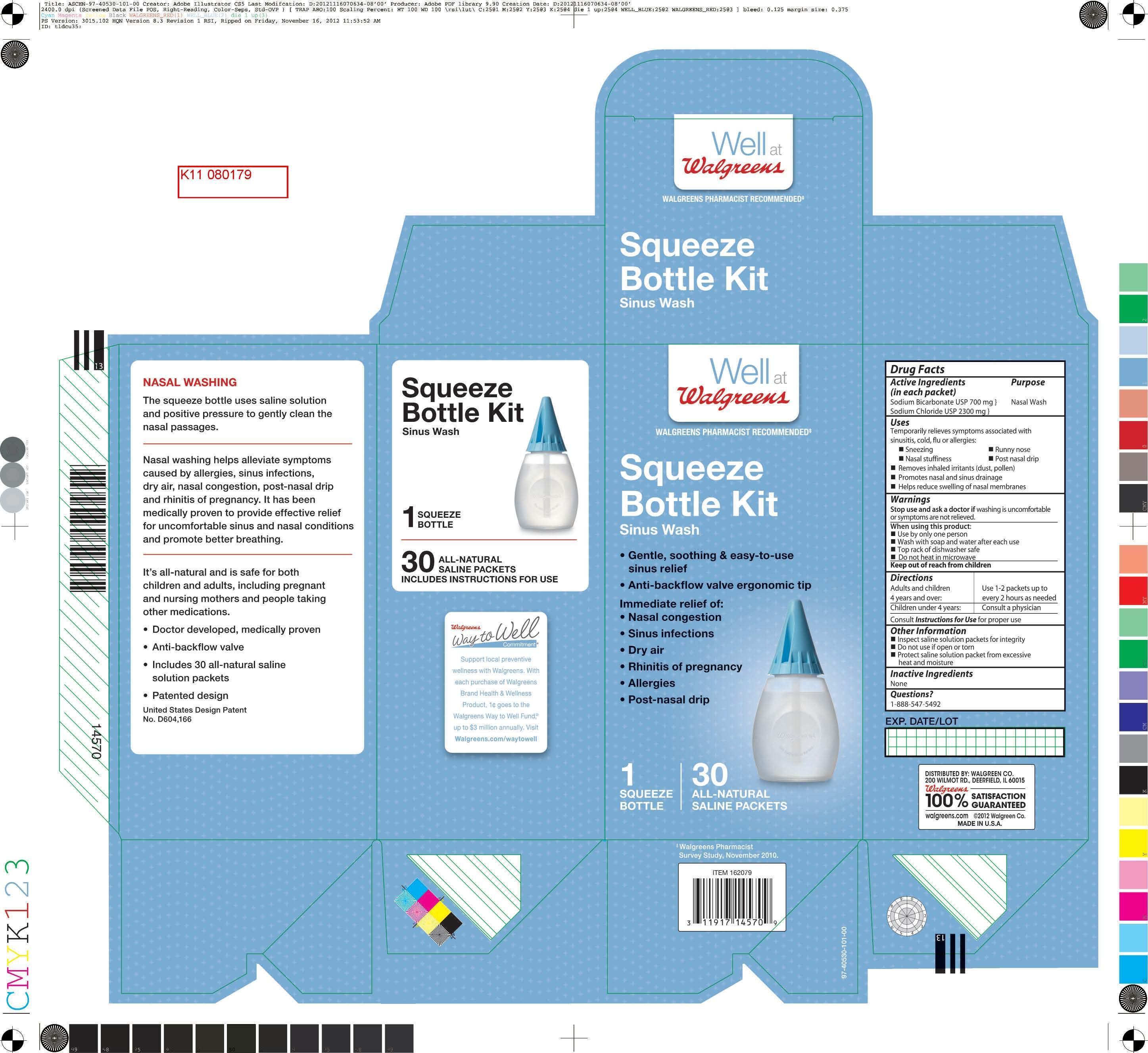 Well At Walgreens (Sodium Bicarbonate, Sodium Chloride) Kit [Walgreen Company]