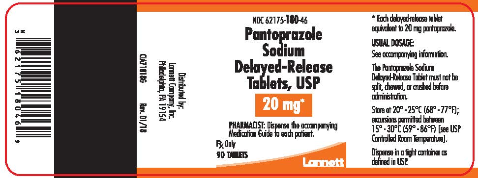 40 mg 90 count bottle label
