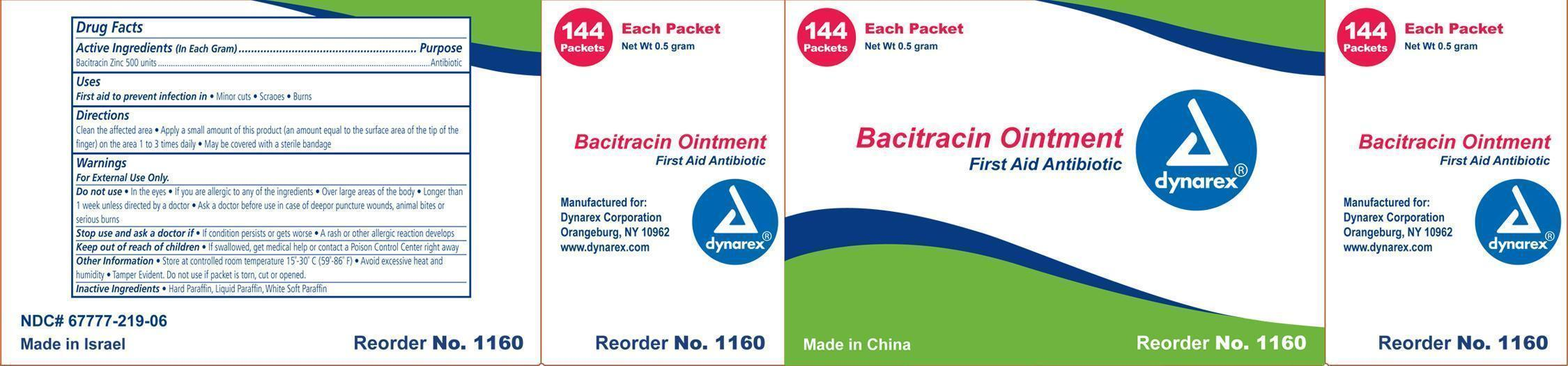 Bacitracin Ointment [Dynarex Corporation]