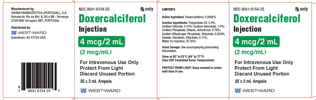 Doxercalciferol Injection [West-ward Pharmaceutical Corp.]