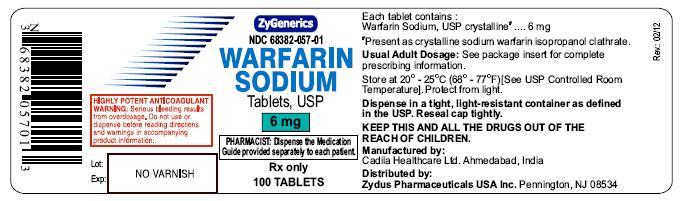 warfarin sodium tablet