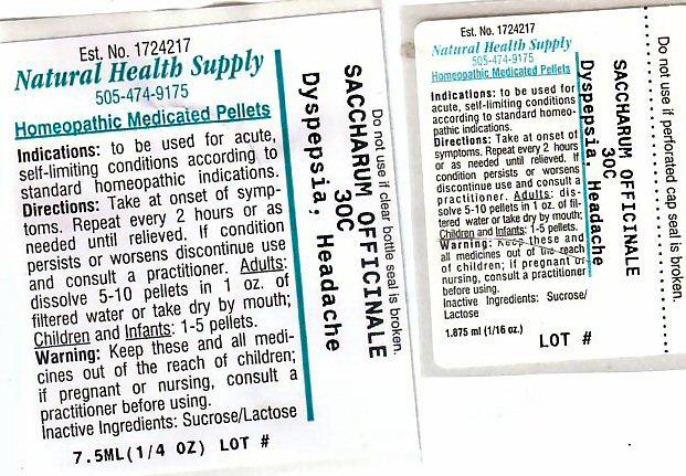 Dyspepsia Headache (Sucrose) Pellet [Natural Health Supply]