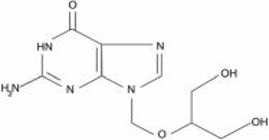 Ganciclovir (structural formula)