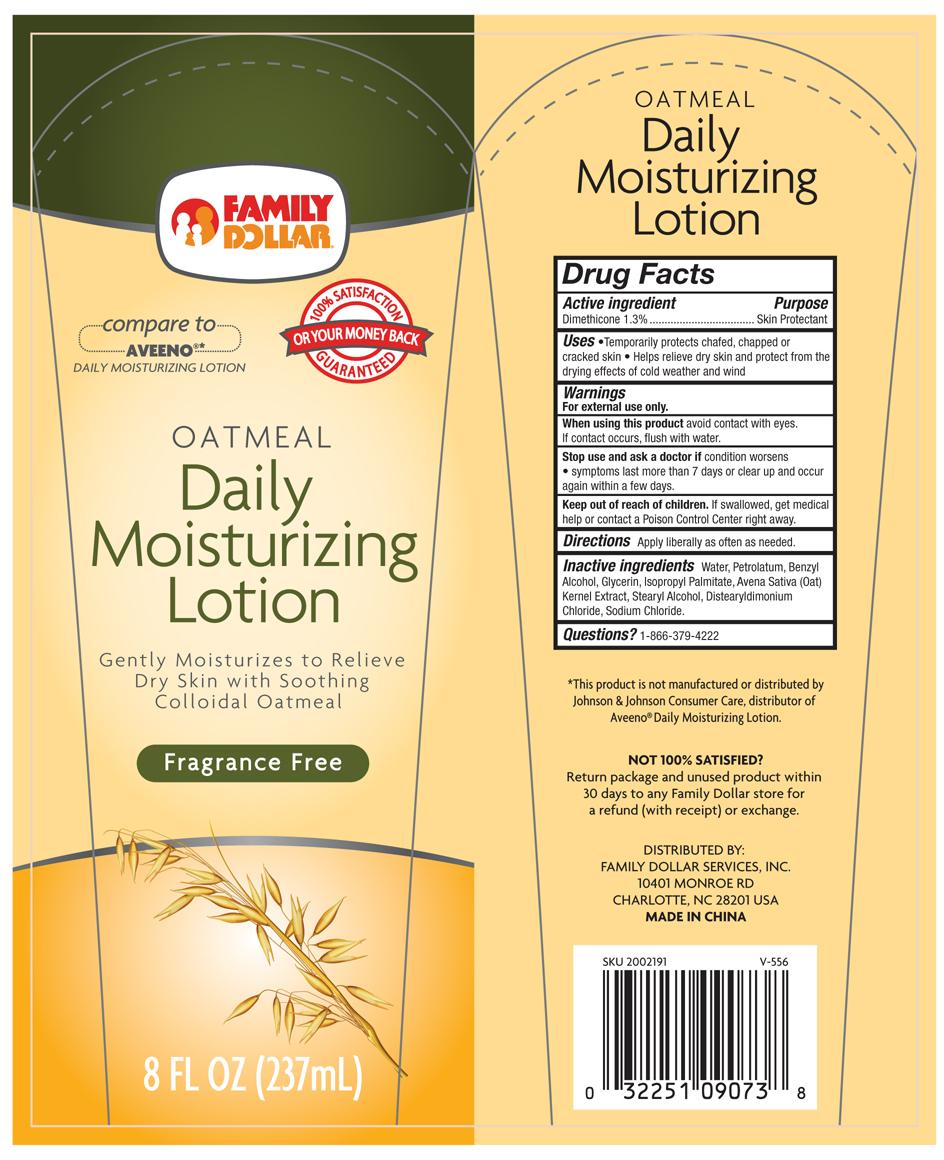 Oatmeal Daily Moisturizing (Dimethicone) Lotion [Davion, Inc]