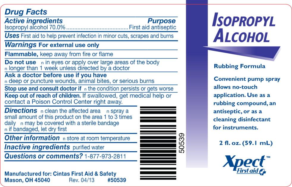 Isopropyl Alcohol Spray [Cintas First Aid & Safety]