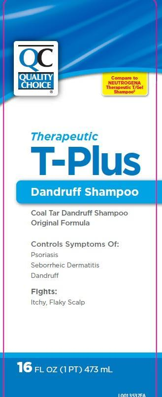 Therapeutic T Plus (Coal Tar) Shampoo [Chain Drug Marketing Association]