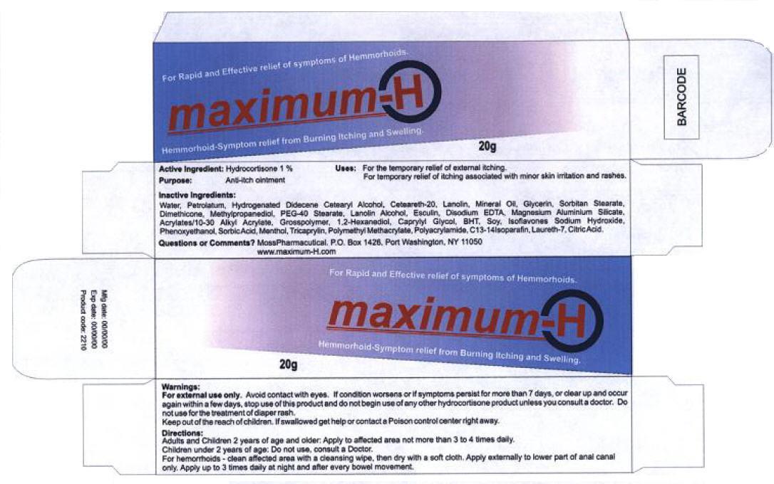 PRINCIPAL DISPLAY PANEL - 20g Tube Carton