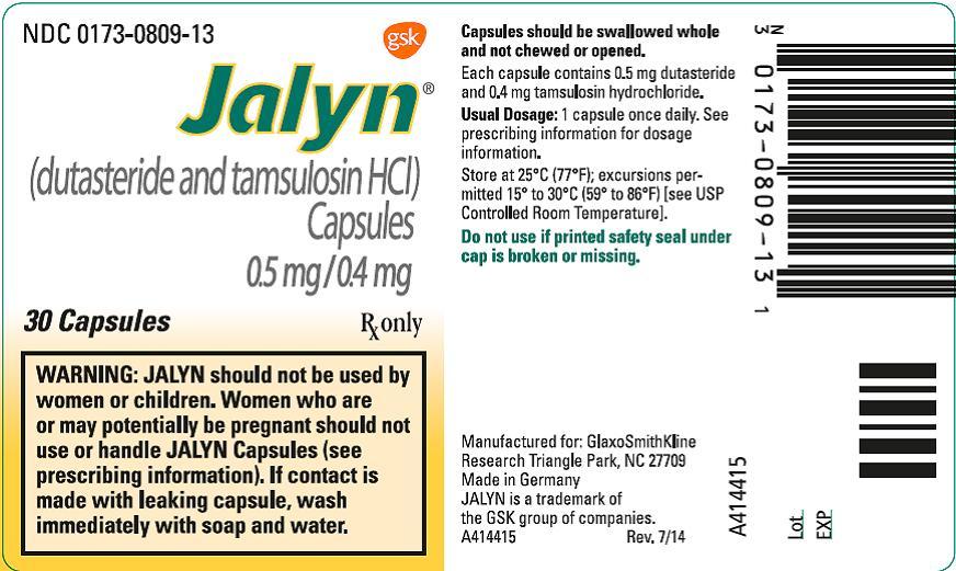 Jalyn (Dutasteride And Tamsulosin Hydrochloride) Capsule [Glaxosmithkline Llc]