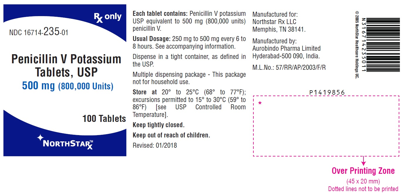 PACKAGE LABEL-PRINCIPAL DISPLAY PANEL - 500 mg (100 Tablet Bottle)