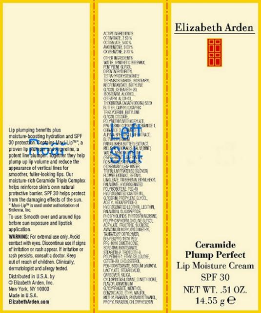 Ceramide Plump Perfect Lip Moisture Spf 30 (Octinoxate) Cream [Elizabeth Arden, Inc]