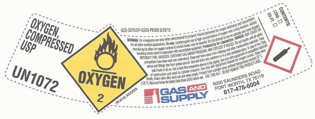 Oxygen Gas [Gas And Supply]