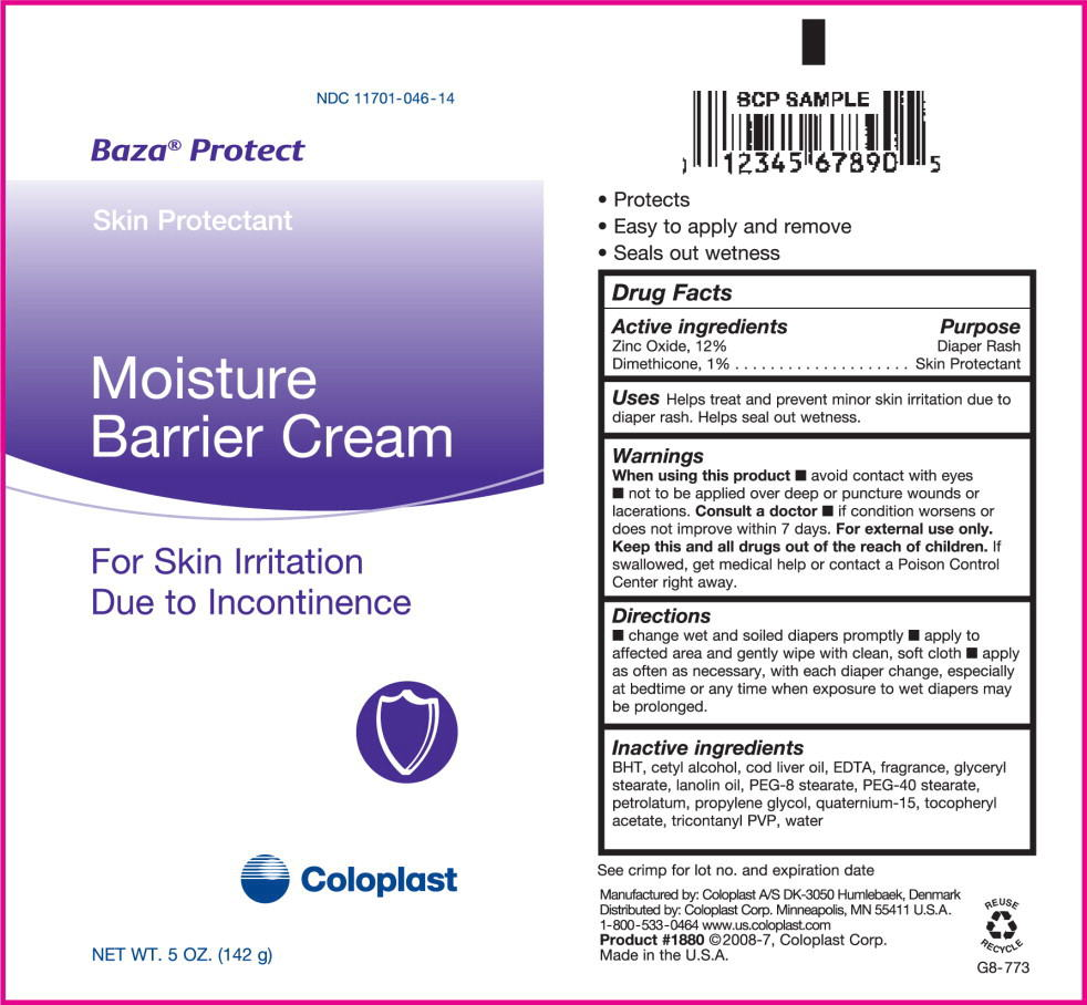 Baza Protect (Zinc Oxide And Dimethicone) Cream [Coloplast Manufacturing Us, Llc]